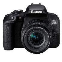 佳能 Canon 单反套机 EOS 800D EF-S 18-55mm f/4-5.6 IS STM 镜头