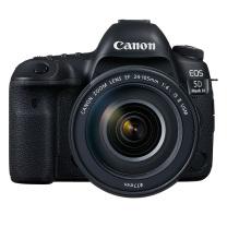 佳能 Canon 单反套机 EOS 5D Mark IV 5D4 EF 24-105mm f/4L IS II USM 单反镜头  全画幅