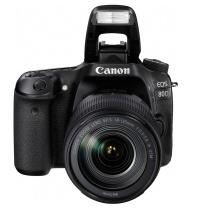 佳能 Canon 单反套机 EOS 80D (EF-S 18-135mm f/3.5-5.6 IS USM镜头)