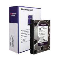 海康威视 HIKVISION 硬盘 WD60PURX 紫盘6TB (黑色)