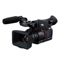 松下 Panasonic (Panasonic) 高端手持4K/HDR/10bit记录 支持IP控制/RTMP推流直播摄像机 (闪迪64G卡++包+沣标清洁套装) AG-CX200MC / (黑色)