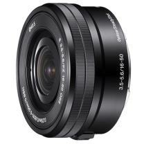 索尼 SONY APS-C画幅微单E卡口镜头 E16-50mm 用于索尼a6000 a6300 a6500等(拆机) 黑色