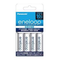 爱乐普 eneloop (eneloop)充电电池高容量套装 5号4节