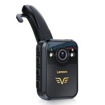 联想 lenovo 执法记录仪1296P高清红外夜视专业微型便携音视频现场执法仪 DSJ-2H 32G (黑色)