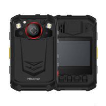 海信 Hisense 海信Z2执法记录仪4G视频对讲3600万像素高清红外夜视北斗定位视微距拍摄集群对讲警用终端 DSJ-HISZ2A1 4G版 (黑色)