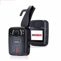 联想 lenovo 执法记录仪4800万像素 小型随身工作音视频现场记录仪 1W 32G版 (黑色) 可换电池