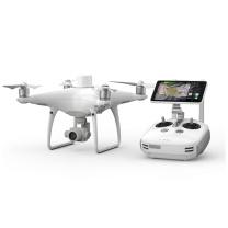 大疆 DJI 多旋翼无人机 精灵phantom4+RTK 主机含两电一充 (白色) 内含保险和电池及充电器