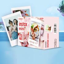 富士 FUJIFILM 相纸 白边六包礼盒装60张  (适用于mini7C/7s/9/8/25/90/70/hellokitty/SP-2)