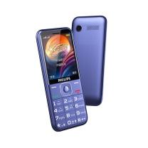 飞利浦 PHILIPS 老人手机 飞利浦 PHILIPS E258S 宝石蓝 直板按键 移动/联通2G 老人手机 老年功能手机