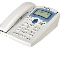 飞利浦 PHILIPS 电话机 TD-2816 (白色) 带分机口