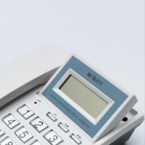 晨光 M&G 标准型电话机(全免提水晶按键摇头) AEQN8924 AEQN8924 (黑色)
