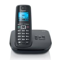 集怡嘉 数字无绳子母机录音电话机座机办公家用无线固话带录音 单机 E710A