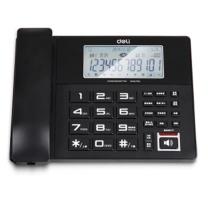 得力 799 录音固定电话座机(附赠4G内存卡)黑(单位:台)