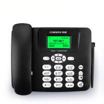 中诺 CHINO-E 插卡电话机 家用办公无线固话GSM移动/电信插SIM卡 C265 录音座机 CDMA电信版 (黑色)
