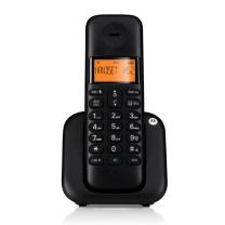 摩托罗拉 MOTOROLA 数字无绳电话机 T301C (黑色)