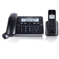 飞利浦 PHILIPS 子母机无绳 座机子母机电话机 DCTG192 (黑色)