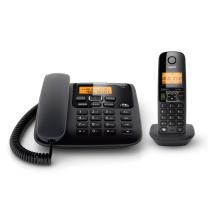 集怡嘉 数字电话机 A730 数字电话机 (黑色)