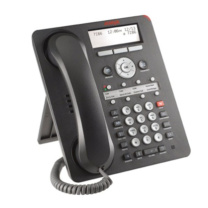 AVAYA IP电话座机 1608-i IP话机高档办公电话座机电话全新正品液晶屏 (灰色) 包含电源适配器