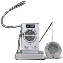 康艺 KKANGYI 对讲机 HT-500b 窗口双向对讲机  邮局医院扩音器喇叭麦克风报话机
