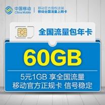 中国移动 CHINA MOBILE 上网卡 24G  3/4G上网卡资费卡 移动24G全国流量卡