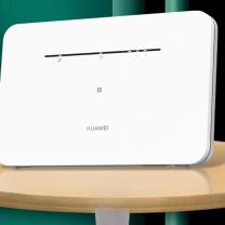 华为 HUAWEI 4G无线路由器2企业级直播sim卡转有线无限流量 B311AS 含1500G年卡