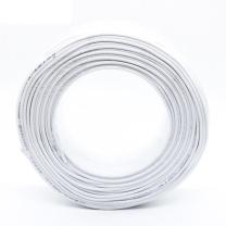 理联 两芯电话线 纯铜线芯 LN-DHX02/02 0.43mm 100米/卷