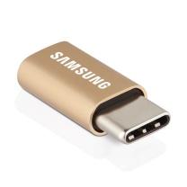三星 SAMSUNG Micro USB转Type-C转接头 安卓数据线转换器 支持三星快速充电 (铝合金)