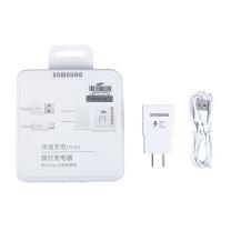 三星 SAMSUNG 原装充电器 Micro 2.0快充数据线 安卓三星手机 充电器插头 (白色)