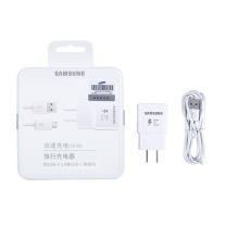 三星 SAMSUNG 原装充电器 快充Type-C数据线 S10+/NOTE9/S7PLUS 三星安卓手机 充电器插头 (白色)