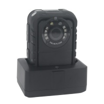普法眼 现场音频执法记录仪3400万像素行车记录仪1296P红外夜视 内置GPS 黑色 外接摄像头 DSJ-PF3 128G