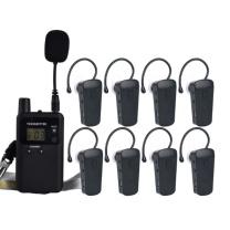 比西特 无线解说器 813T  1发40个接收+50位充电底座+收纳箱 讲解器