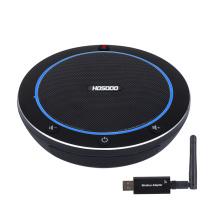 宏视道 视频会议全向麦克风 HSD-MC100W 2.4G无线连接  适用20平米会议室 会议扬声器桌面麦克风