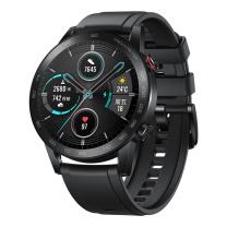 荣耀 智能运动户外手表 两周续航 蓝牙通话 麒麟芯片 心脏健康监测 MagicWatch2 46mm (碳石黑)