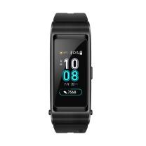 华为 HUAWEI 运动手环 智能手环 (蓝牙耳机+心率监测+彩屏+触控+压力监测+Android+IOS通用+) B5运动版 (曜石黑)