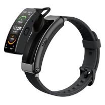 华为 HUAWEI 智能手环 B6运动款 (蓝牙耳机+心率监测+触控+遥控拍照+扫码支付+Android+IOS) (曜石黑)