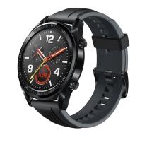 华为 HUAWEI 智能手表 GT运动款 (两周续航+户外运动手表+实时心率+高清彩屏+睡眠/压力监测+NFC支付) (黑色)