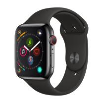 苹果 Apple 智能手表 MTVD2CH/A Apple Watch Series 4 GPS+蜂窝款 40毫米深空灰色铝金属表壳 黑色运动型表带