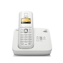 集怡嘉 集怡嘉(Gigaset)原西门子电话机无绳电话座机C585德国进口子母机中文菜单录音留言固定家用办公无线电话机(白)