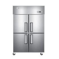 海尔 Haier 商用立式不锈钢四门双温冷柜 SL-1020C2D2 1020L (银色) 不含运费,详询客服