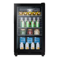 海尔 Haier 单门立式冷柜直冷冰吧 DS096A 96升  全国大部分地区含运(偏远地区及山区加收费用,详询客服)