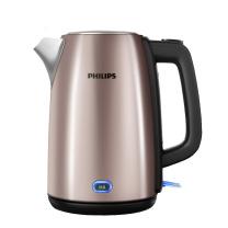 飞利浦 PHILIPS 电水壶热水壶电热水壶不锈钢 HD9355 1.7L (铂金)