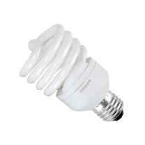 飞利浦 PHILIPS 螺旋型大螺口节能灯 E27/220V/40W/6500K 白光  8只/箱