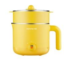 九阳 Joyoung 多功能电热锅 K12-D603 (黄色) 带蒸笼