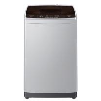 海尔 Haier 全自动直驱变频波轮洗衣机 XQB80-BZ1269 8KG (银色) 全国大部分地区含运(偏远地区加收运费,详询客服)