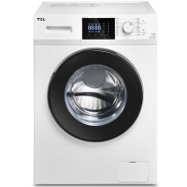 TCL 变频滚筒洗衣机 XQG90-12303B 9kg (芭蕾白) 全国大部分地区含运(偏远地区加收运费,详询客服)