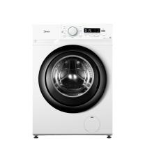 美的 Midea 变频滚筒洗衣机 MG80V11D 8kg (白色) 全国大部分地区含运(偏远地区加收运费,详询客服)