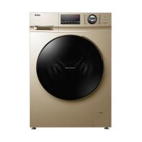 海尔 Haier 变频 洗烘一体 滚筒洗衣机 G100108HB12G 10公斤 (金色) 全国大部分地区含运(偏远地区加收运费,详询客服)