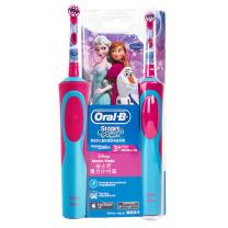 欧乐B Oralb 电动牙刷 儿童充电式(3岁以上适用)护齿 冰雪奇缘款 (冰雪奇缘图案 款式随机) D12 Kid