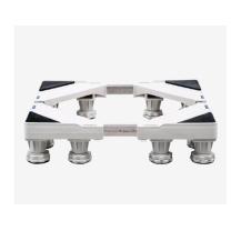 宝优妮 不锈钢12底脚置物架(灰白色) DQ9102-2