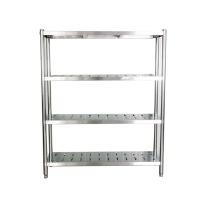 久洁 不锈钢四层厨房置物架 1500*500*1600